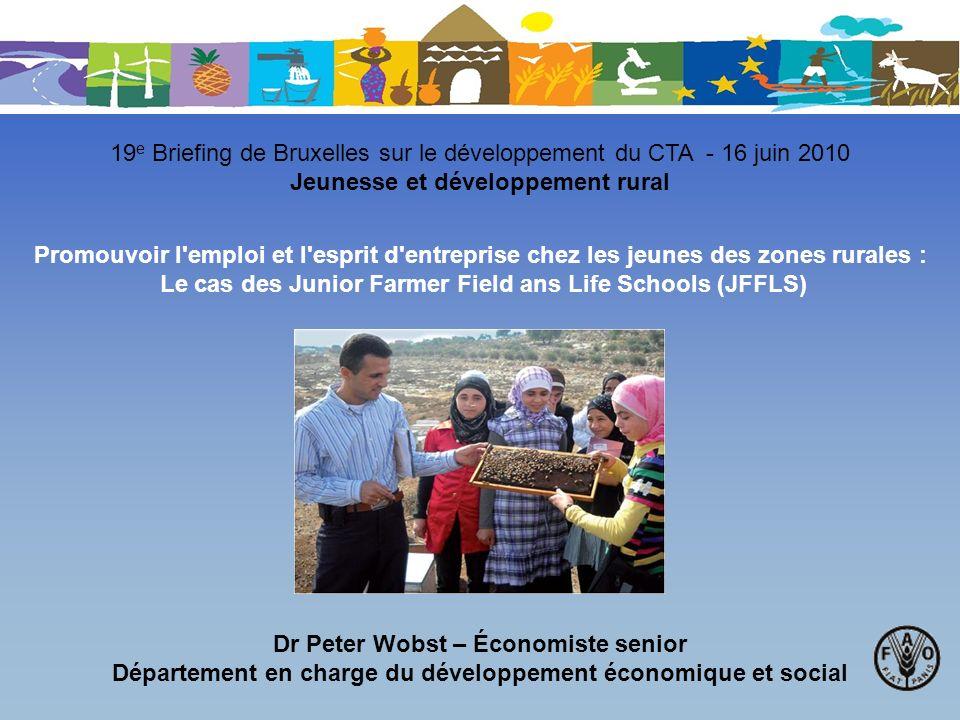 19e Briefing de Bruxelles sur le développement du CTA - 16 juin 2010