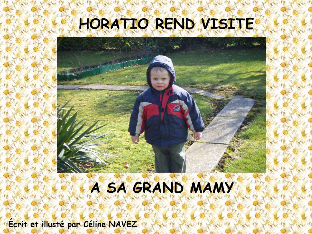 HORATIO REND VISITE A SA GRAND MAMY Écrit et illusté par Céline NAVEZ