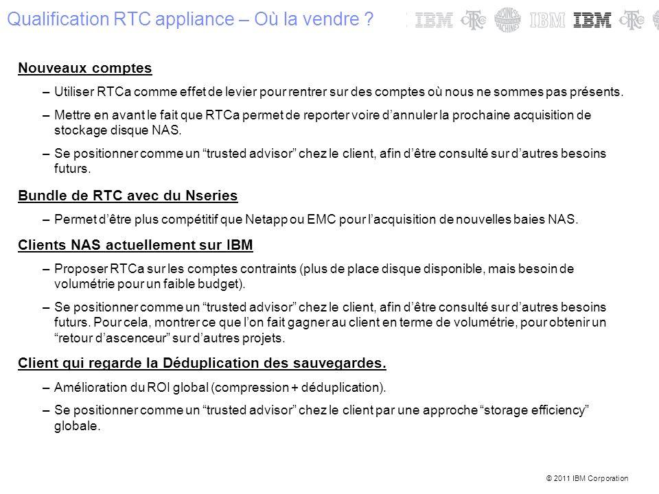 Qualification RTC appliance – Où la vendre