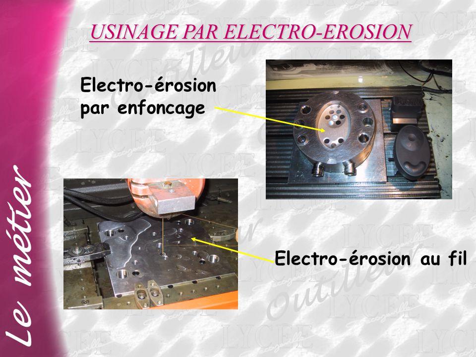 USINAGE PAR ELECTRO-EROSION