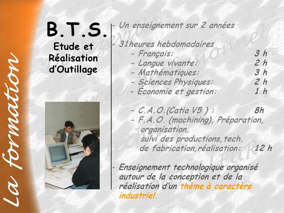 B.T.S. Decazeville Lycée professionnel La formation Lycée technique