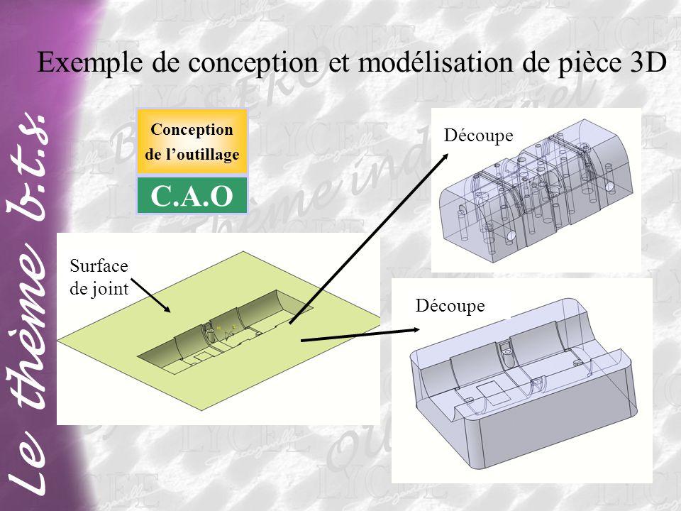 Exemple de conception et modélisation de pièce 3D
