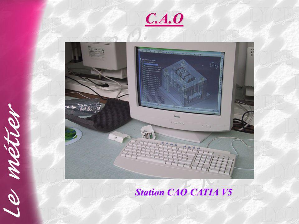 E.R.O. Le métier C.A.O Station CAO CATIA V5