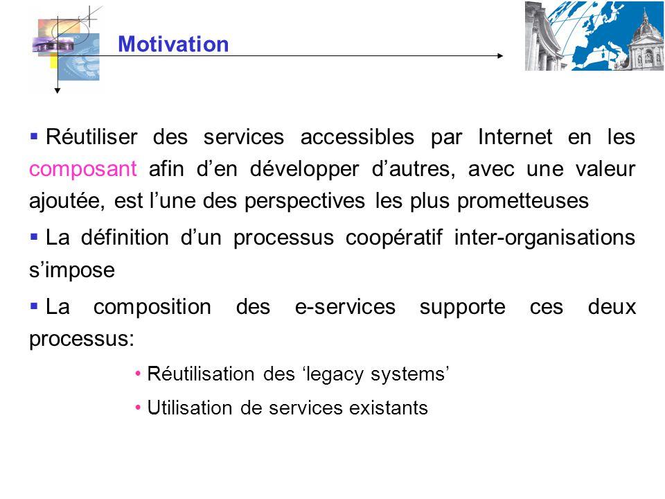 La définition d'un processus coopératif inter-organisations s'impose