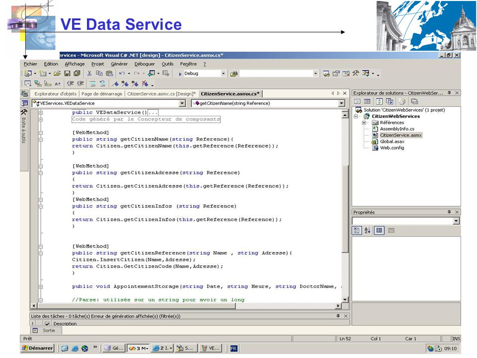 VE Data Service
