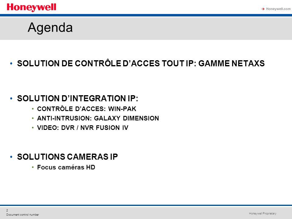 Agenda SOLUTION DE CONTRÔLE D'ACCES TOUT IP: GAMME NETAXS