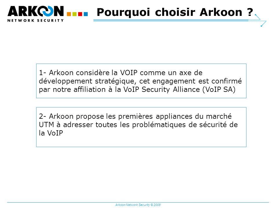 Pourquoi choisir Arkoon