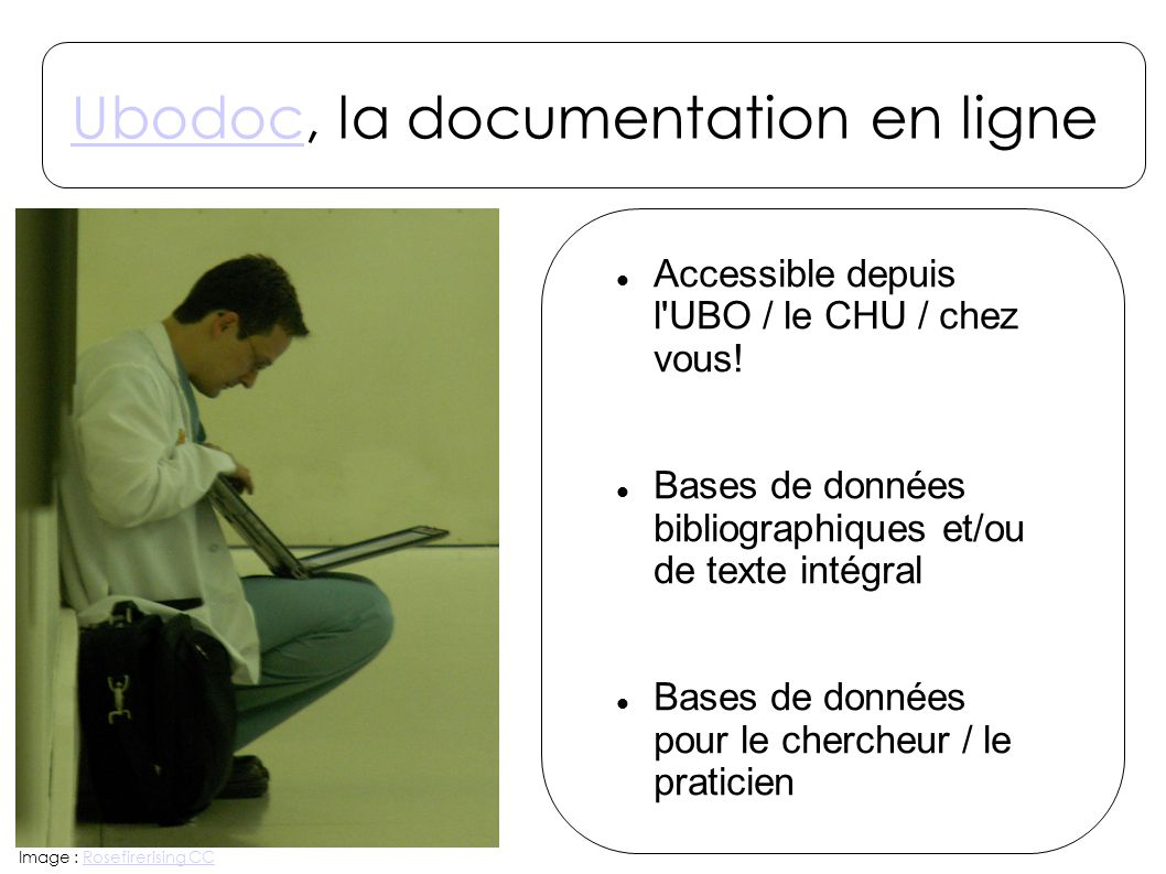 Ubodoc, la documentation en ligne
