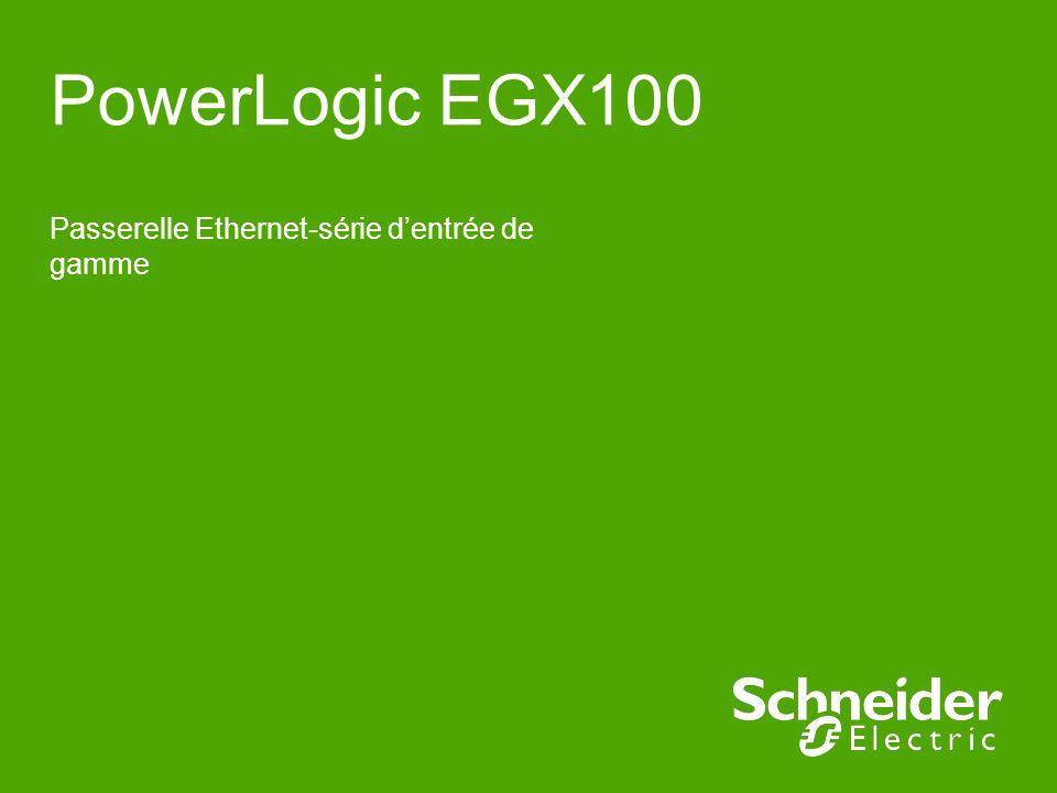 Passerelle Ethernet-série d'entrée de gamme