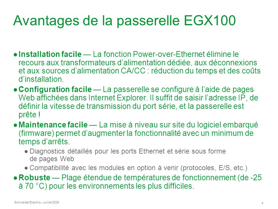 Avantages+de+la+passerelle+EGX100 passerelle ethernet s�rie d'entr�e de gamme ppt video online egx100 wiring diagram at bakdesigns.co