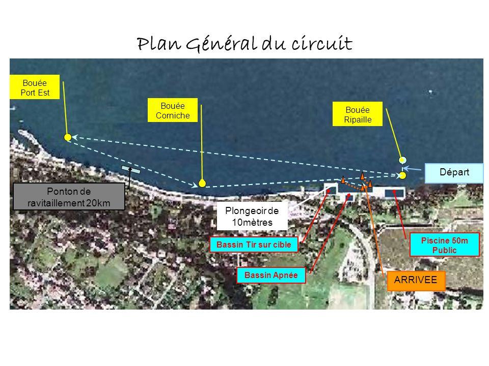 Plan Général du circuit