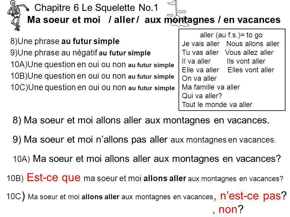 , non Chapitre 6 Le Squelette No.1