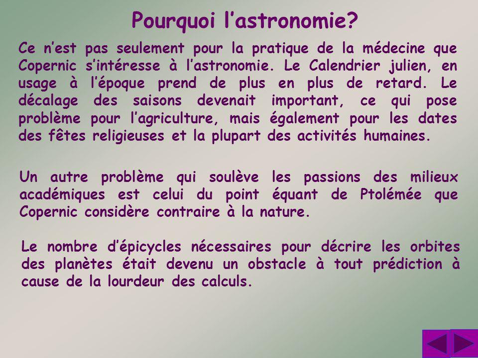 Pourquoi l'astronomie