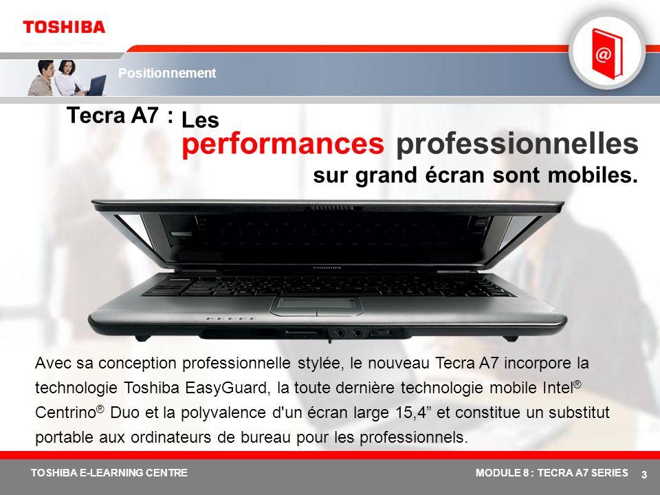 Les performances professionnelles sur grand écran sont mobiles.