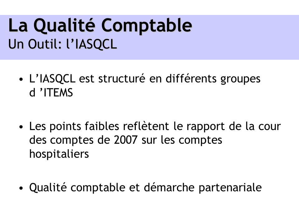 La Qualité Comptable Un Outil: l'IASQCL