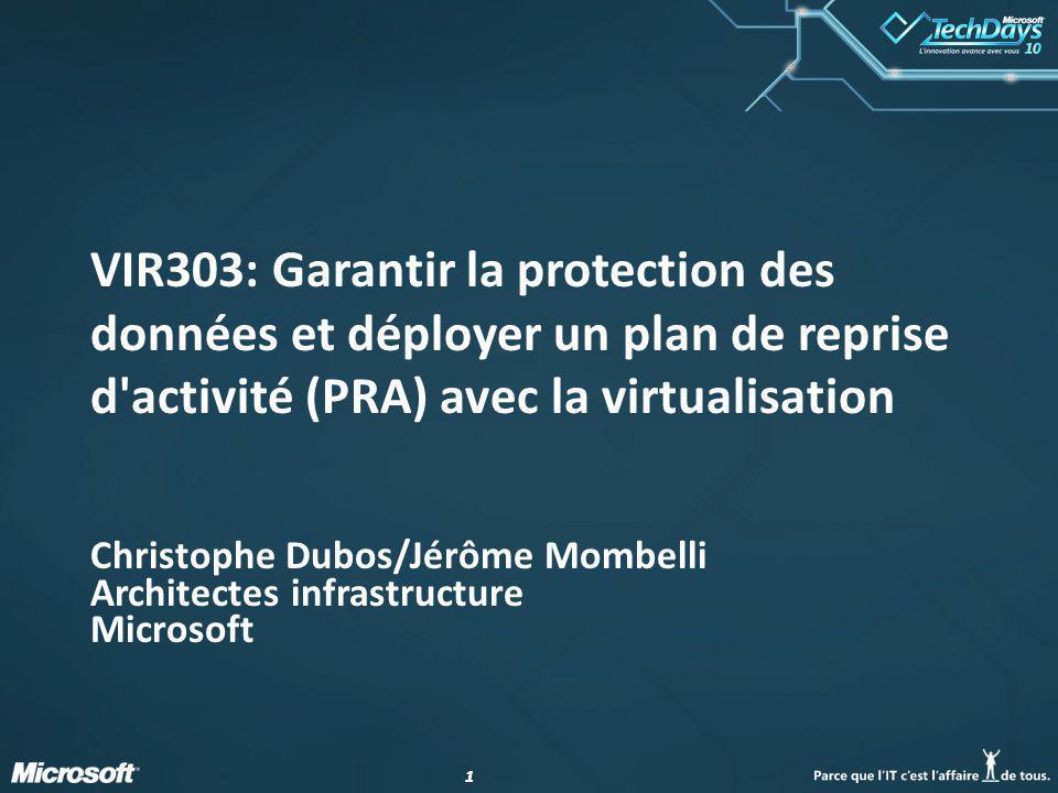 Christophe Dubos/Jérôme Mombelli Architectes infrastructure Microsoft