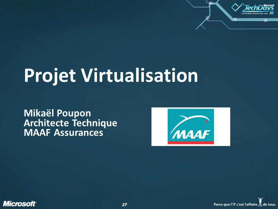 Projet Virtualisation