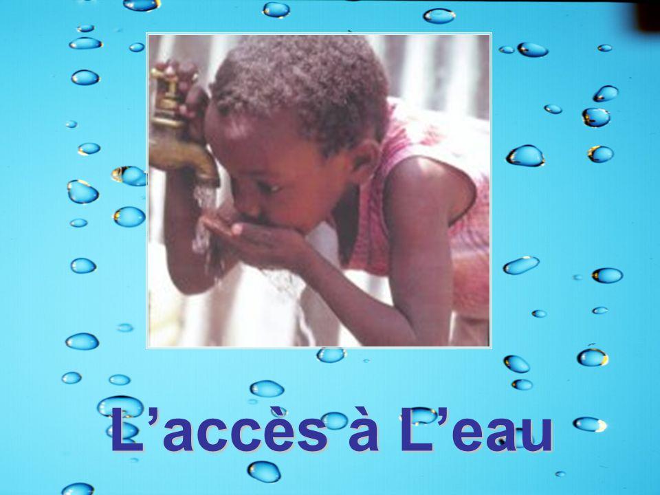 L'accès à L'eau