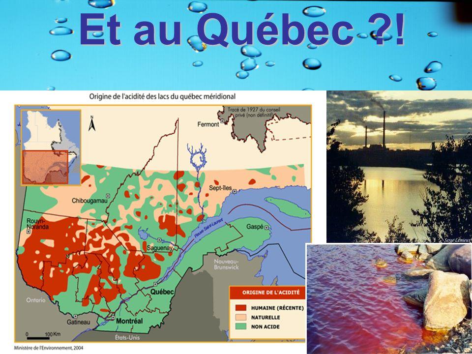 Et au Québec !