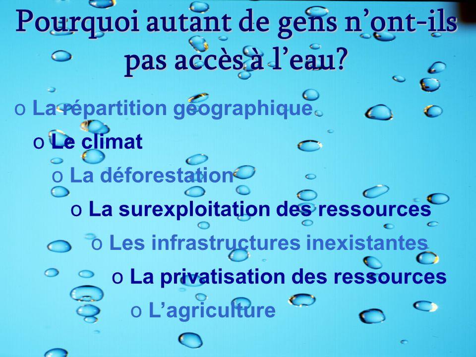 L 39 eau pourquoi parler de l eau ppt video online - L eau du robinet c est pour les grenouilles ...