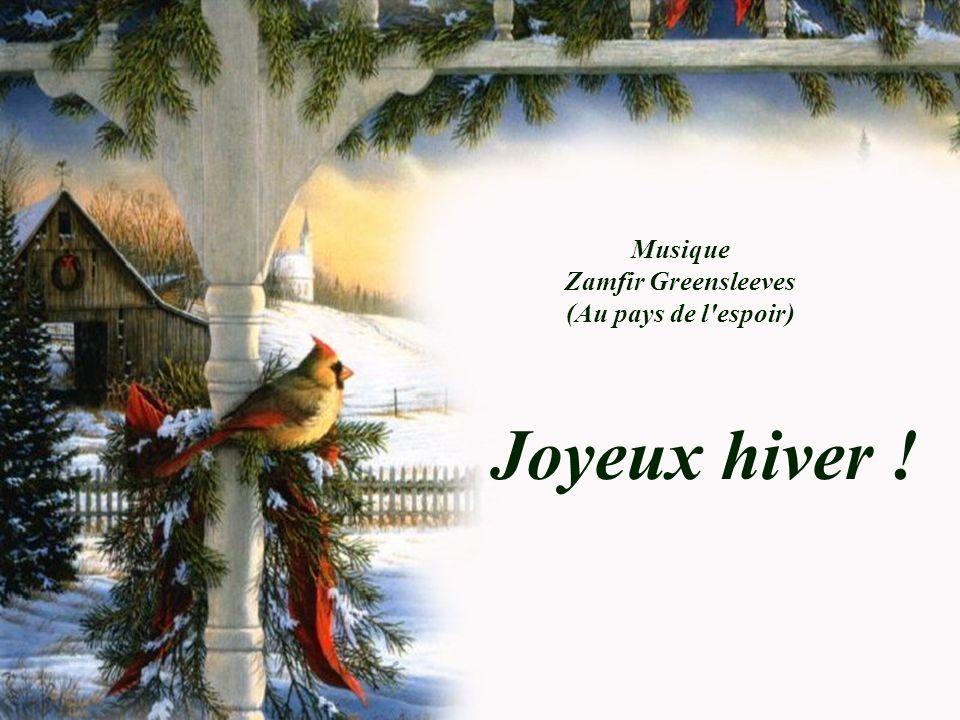 Musique Zamfir Greensleeves (Au pays de l espoir) Joyeux hiver !