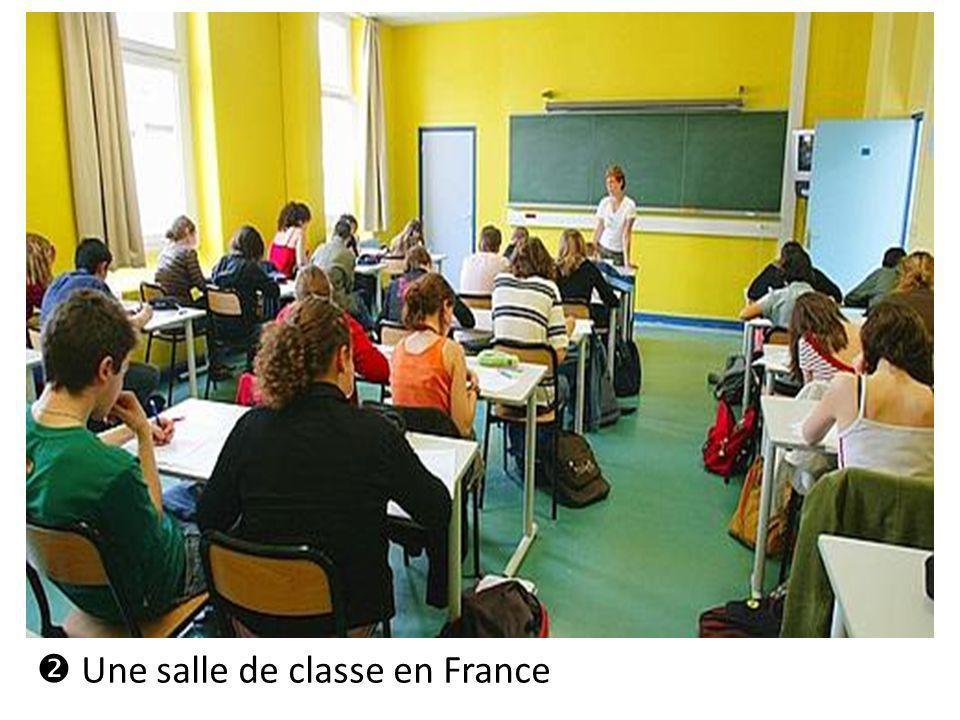  Une salle de classe en France