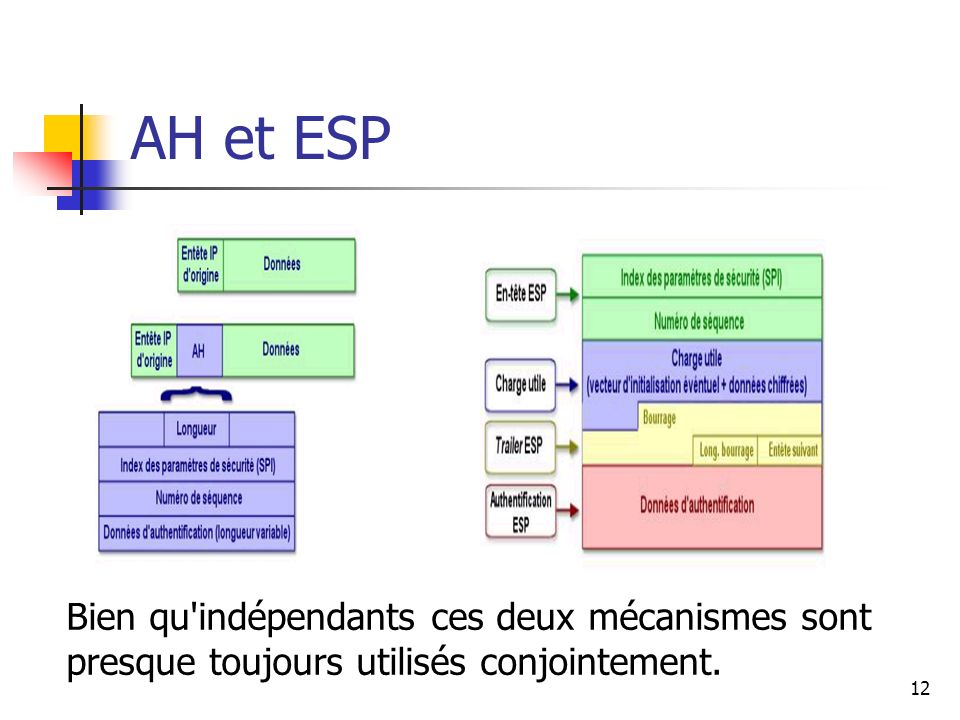 AH et ESP