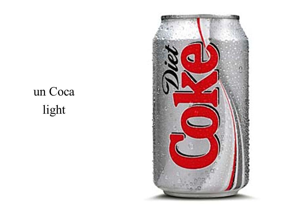 un Coca light