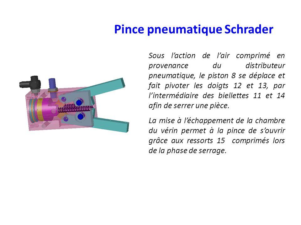 Pince pneumatique Schrader