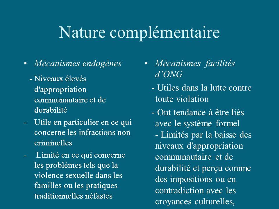 Nature complémentaire