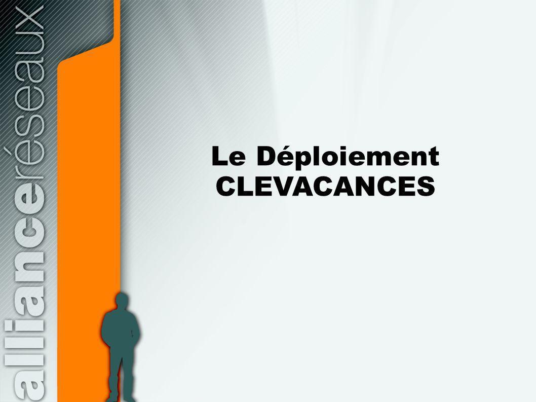 Le Déploiement CLEVACANCES
