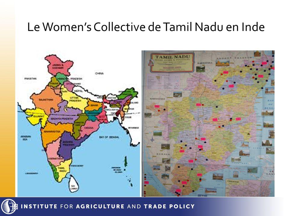 Le Women's Collective de Tamil Nadu en Inde