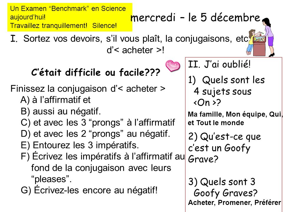 Un Examen Benchmark en Science
