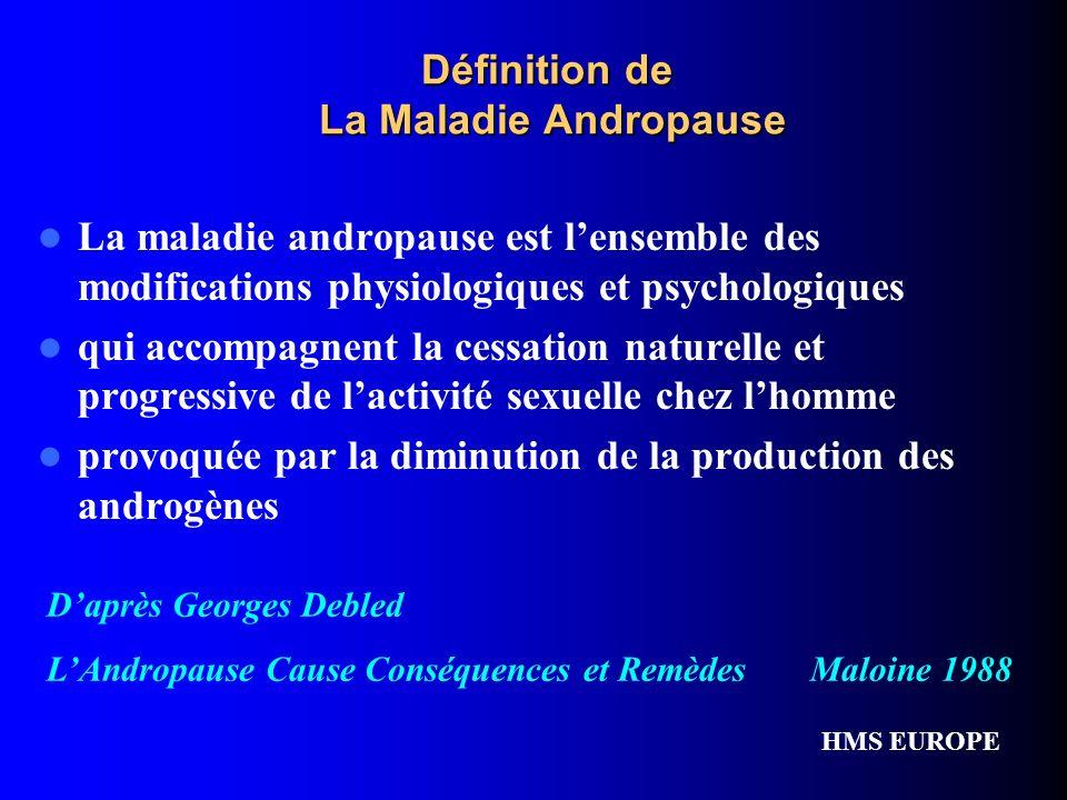 Définition de La Maladie Andropause