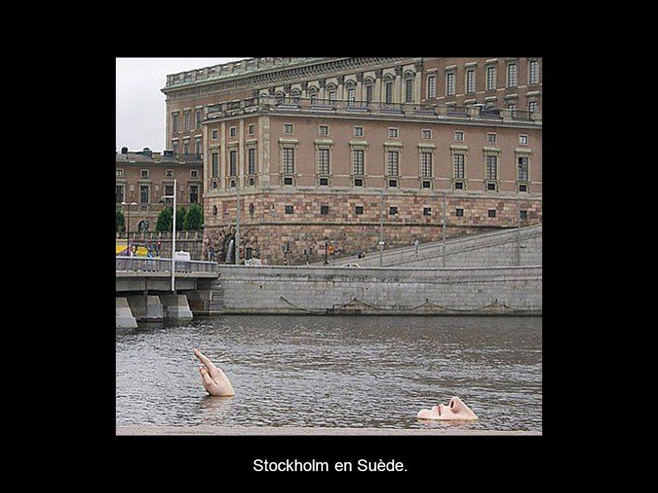 Stockholm en Suède.