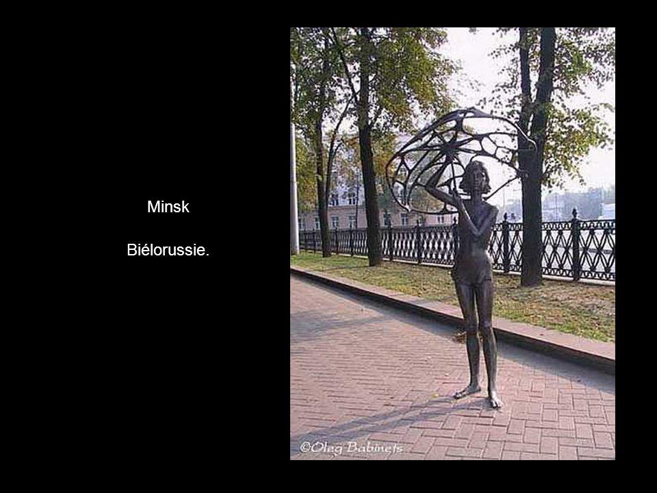 Minsk Biélorussie.