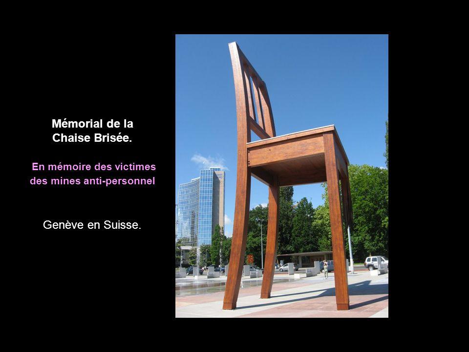 Mémorial de la Chaise Brisée