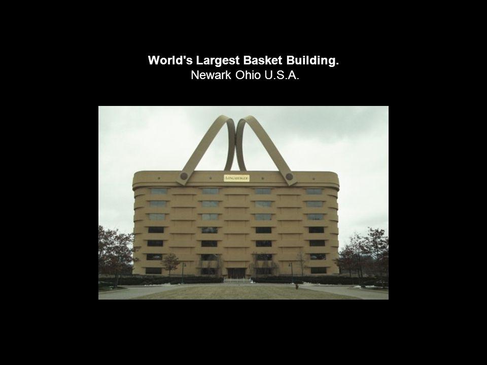 World s Largest Basket Building. Newark Ohio U.S.A.