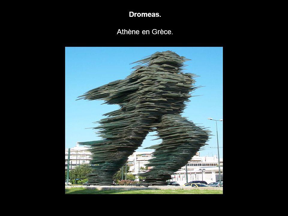 Dromeas. Athène en Grèce.