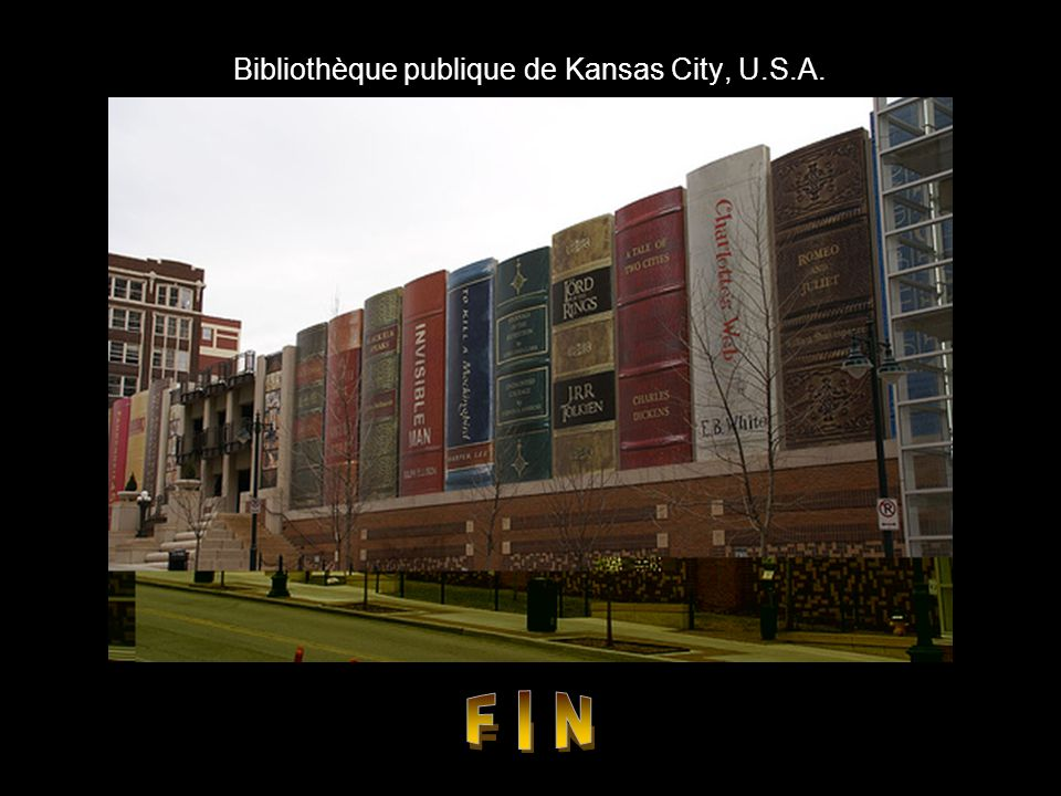 Bibliothèque publique de Kansas City, U.S.A.