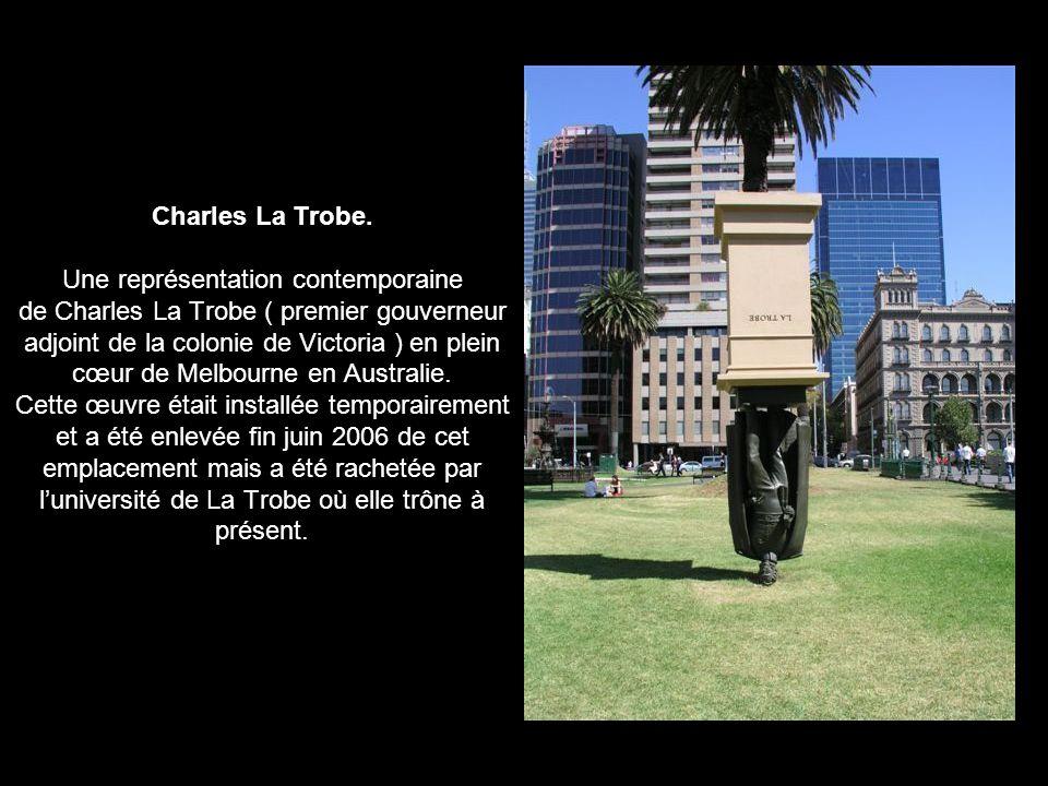 Charles La Trobe.