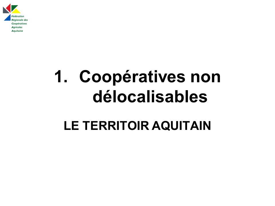 Coopératives non délocalisables