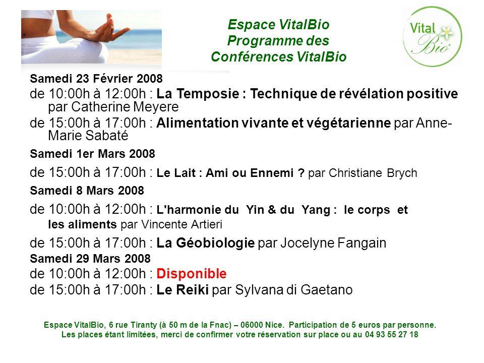 de 15:00h à 17:00h : Le Lait : Ami ou Ennemi par Christiane Brych