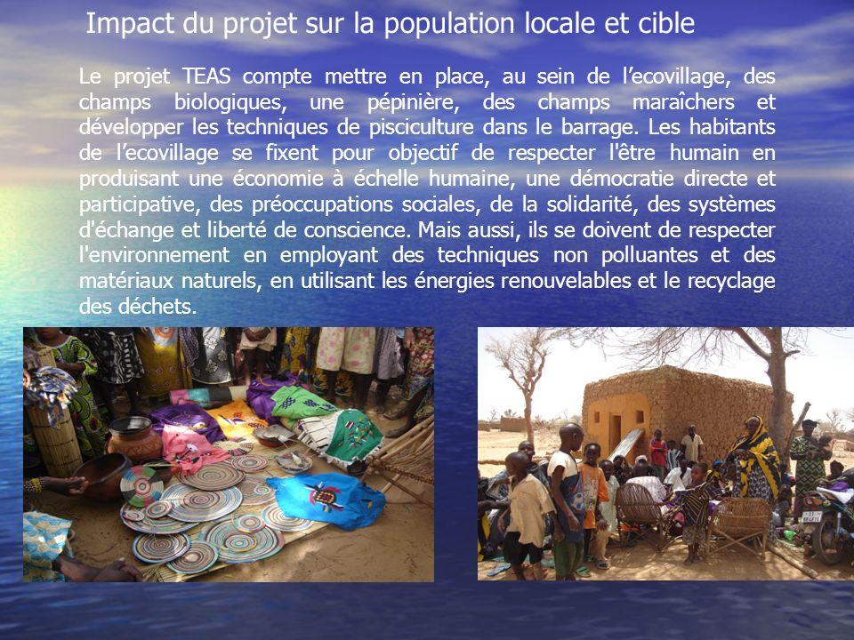 Impact du projet sur la population locale et cible
