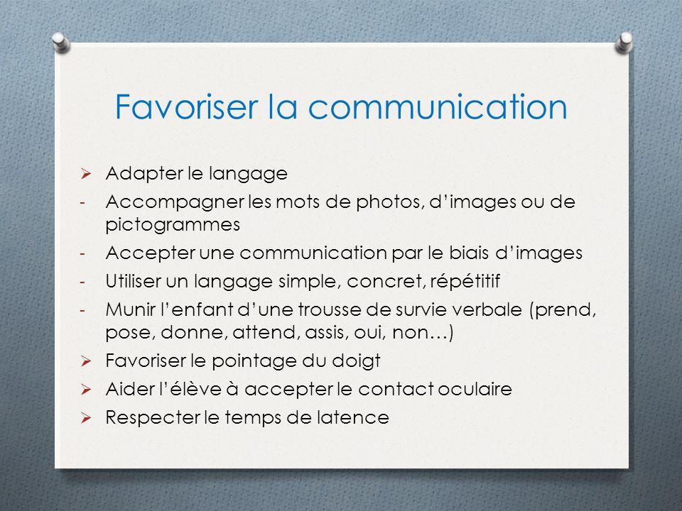Favoriser la communication
