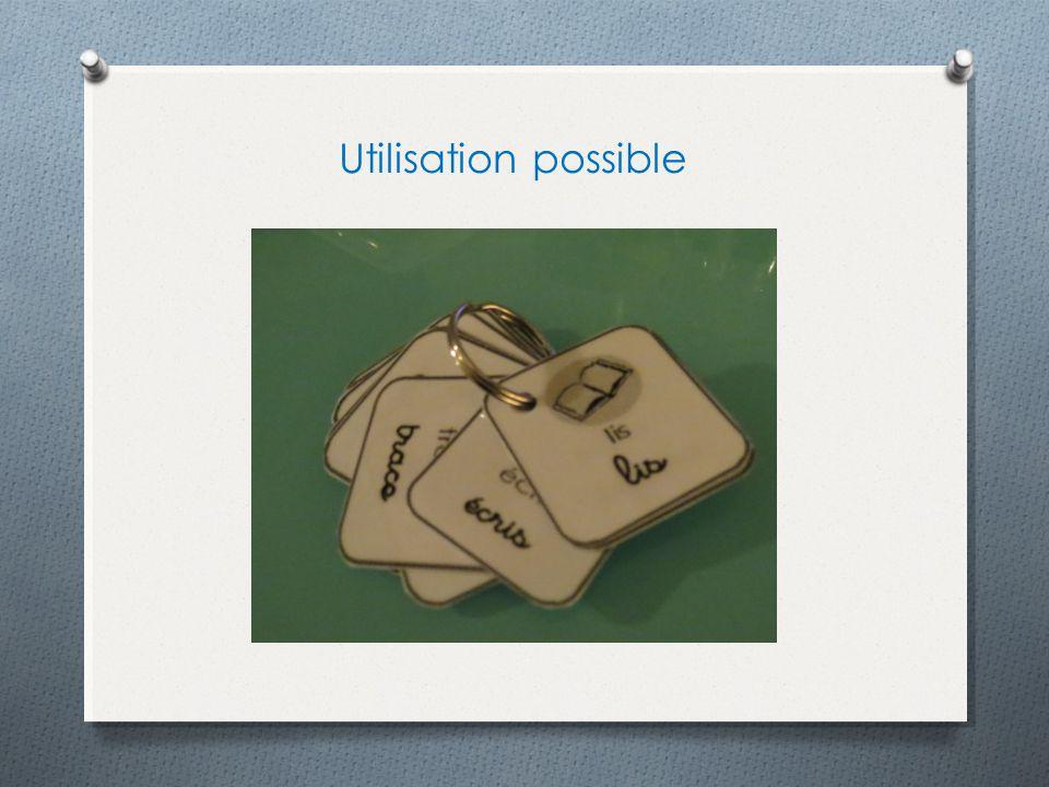 Utilisation possible