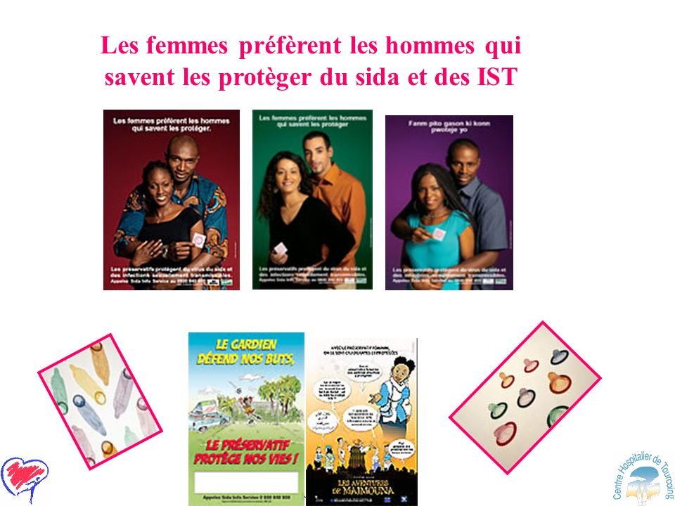 Les femmes préfèrent les hommes qui savent les protèger du sida et des IST