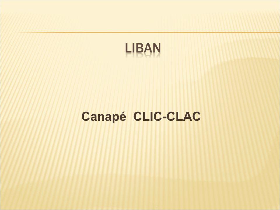 Canapé CLIC-CLAC