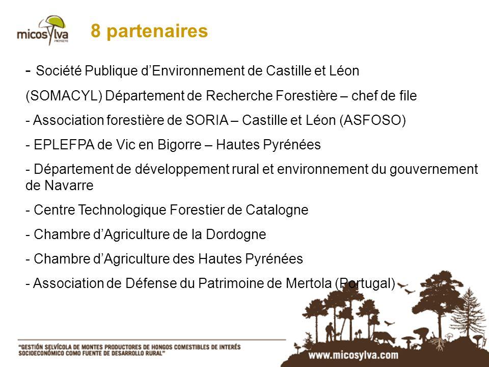8 partenaires Société Publique d'Environnement de Castille et Léon