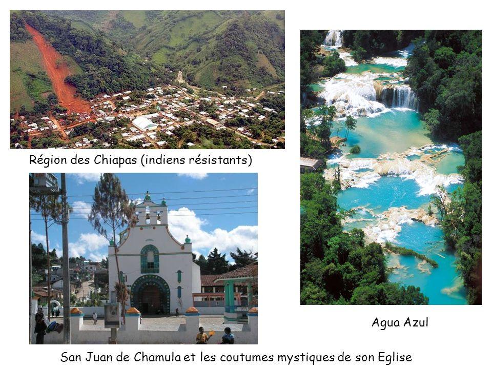 Région des Chiapas (indiens résistants)